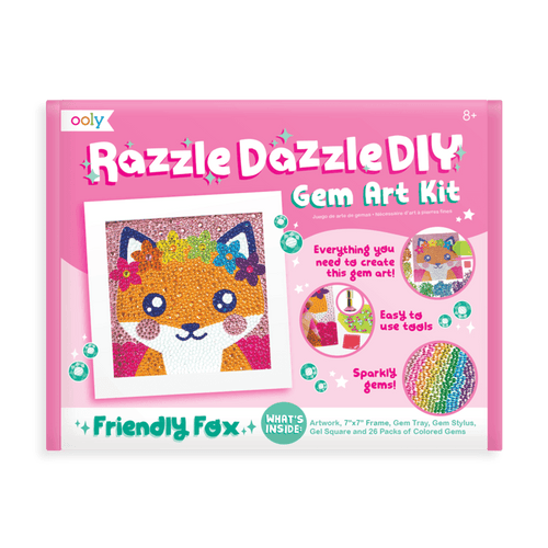 Razzle Dazzle DIY Gem Art Kit Fox