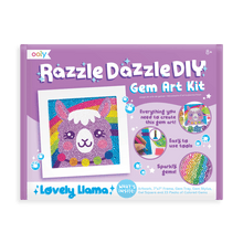 Load image into Gallery viewer, Razzle Dazzle DIY Gem Art Kit Llama