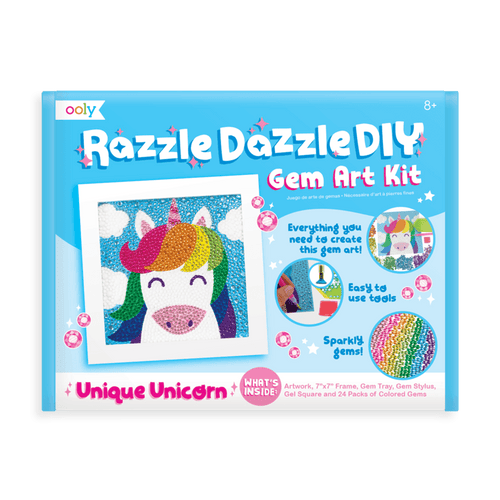 Razzle Dazzle DIY Gem Art Kit Unicorn