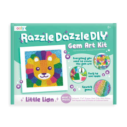 Razzle Dazzle DIY Gem Art Kit Lion