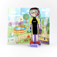 Load image into Gallery viewer, Magnetic Dress Up Doll Alfie