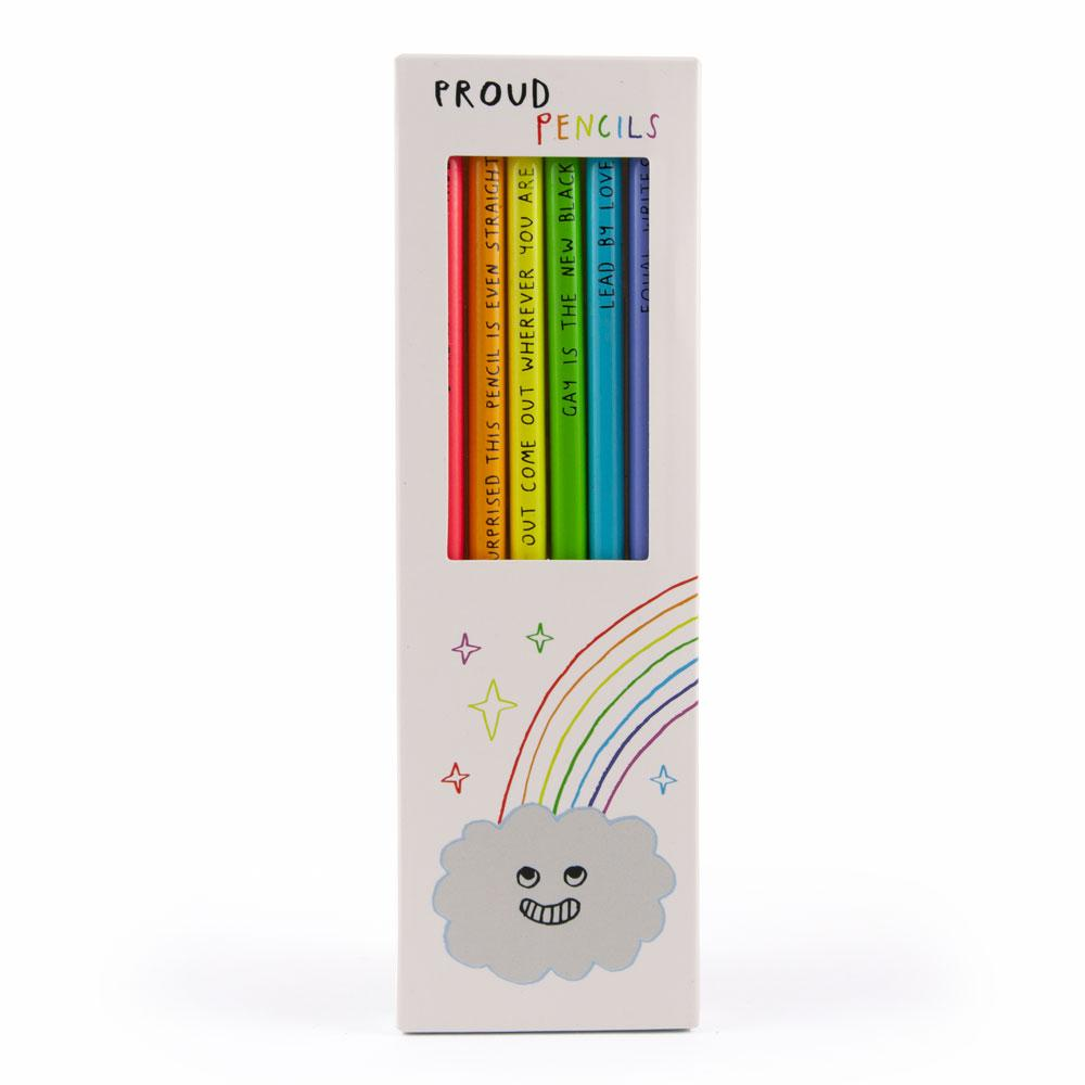 Proud Pencils Set 6