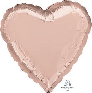 Heart Foil Rose Gold 90cm