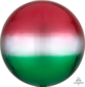 Red & Green Orbz Balloon