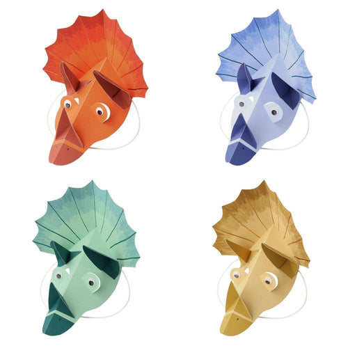 Dinosaur Kingdom Party Hats (Pack 8)