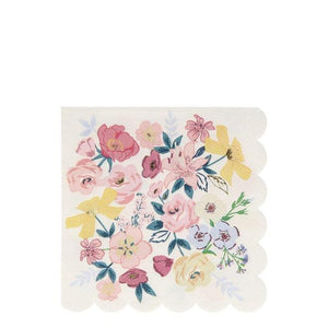 English Garden Large Napkins (Pack 16)