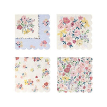 Load image into Gallery viewer, English Garden Large Napkins (Pack 16)