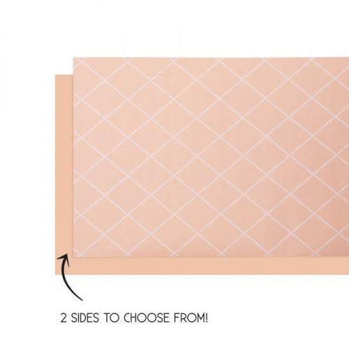 Pastel Peach Table Runner