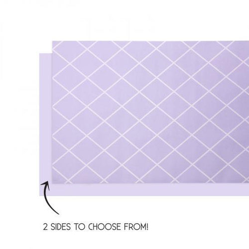 Pastel Lilac Table Runner