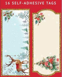 Traditional Self Adhesive Gift Tags (Pack 16)