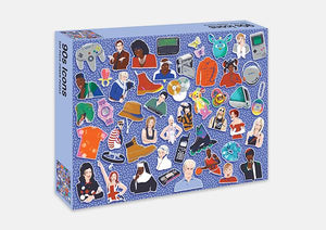 Pop Culture 500 Piece Puzzle - 90's Icons