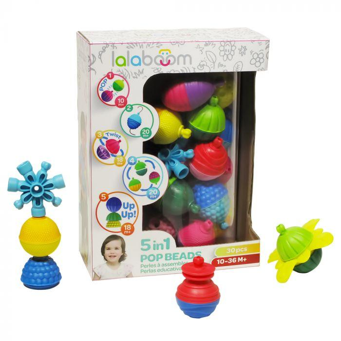 Lalaboom 30 Pieces Beads & Accessories