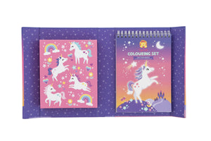 Tiger Tribe Colouring Set Unicorn Magic