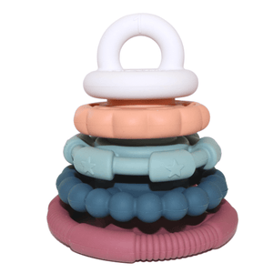 Jellystone Designs Sugar Earth Stacker & Teether