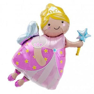 Fairy Godmother with Wand Foil Balloon