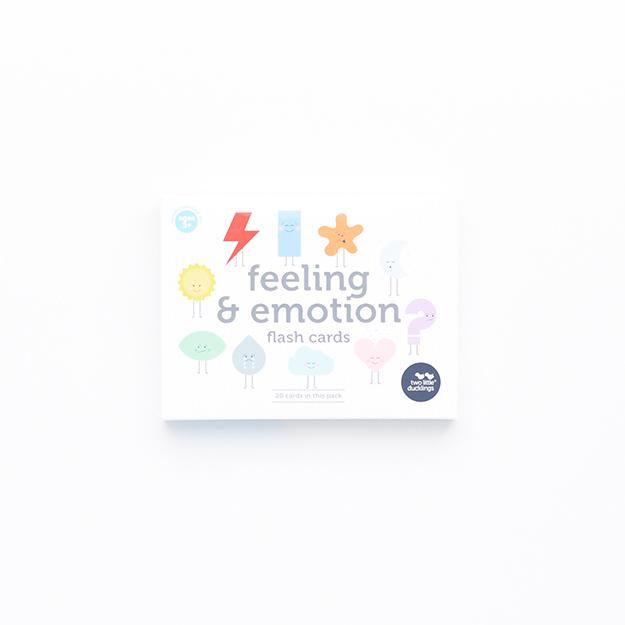 Feeling and Emotion Flash Cards