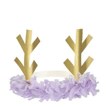 Load image into Gallery viewer, Reindeer Fringe Antler Headbands