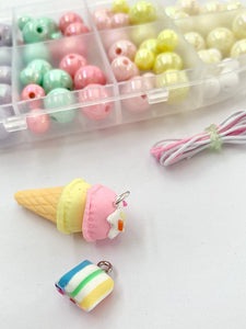 BIY Bead Kit Ice Cream