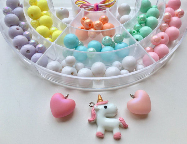 BIY Bead Kit Unicorn Pastel Arch