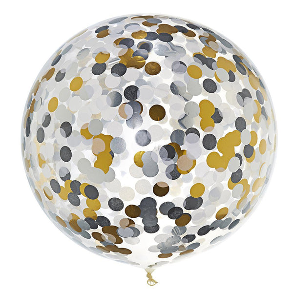 Jumbo Confetti Balloon Fancy Schmancy