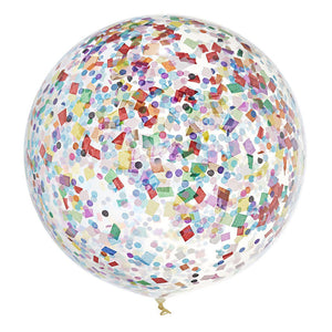 Jumbo Confetti Balloon Good Times