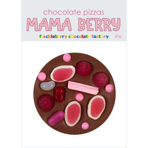 Mama Berry Chocolate Pizza
