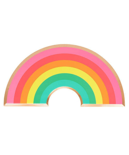 Oh Happy Day Rainbow Plates (Pack 8)