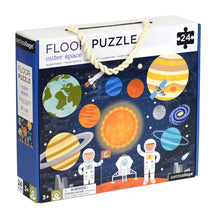 Load image into Gallery viewer, Outer Space Floor Puzzle 24 Piece