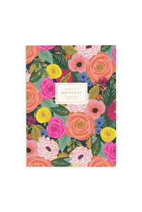 Rifle Paper Co. Memoir Notebook Ruled Juliet Rose