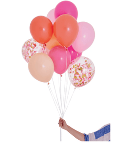 INFLATED Balloon Bunch Pink Shimmer