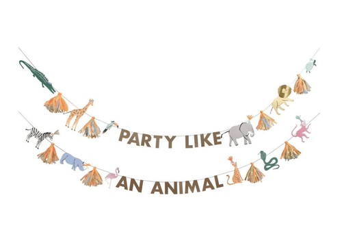 Safari Party Animals Garland