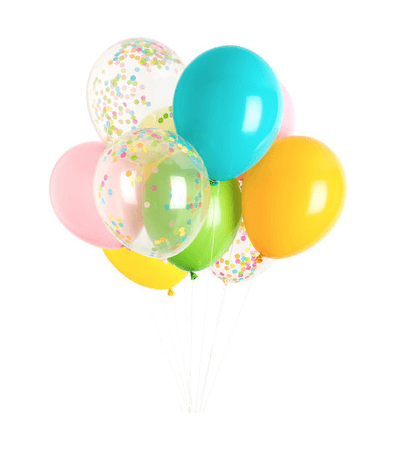 Classic Balloon Set - Happy