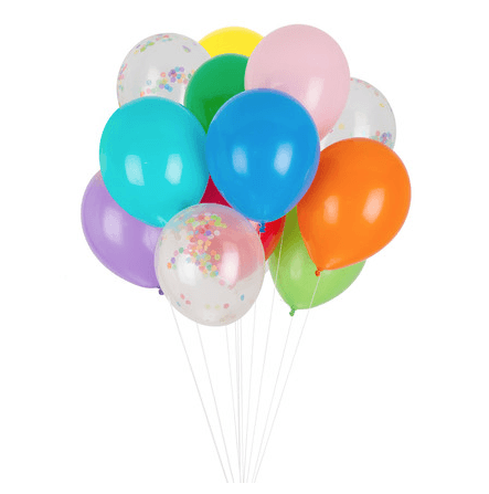 Classic Balloon Set - Rainbow