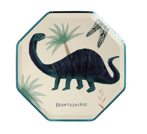 Dinosaur Kingdom Plates (Pack 8)