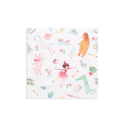 Lola Dutch Large Napkins (Pack 16)