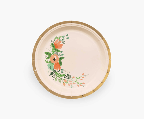 Rifle Paper Co. Garden Party Plates Wildflower Small
