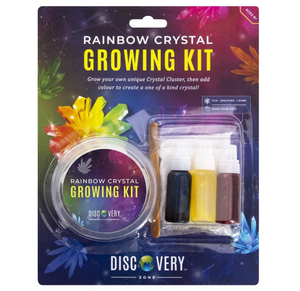 Discovery Zone Rainbow Crystal Growing Kit