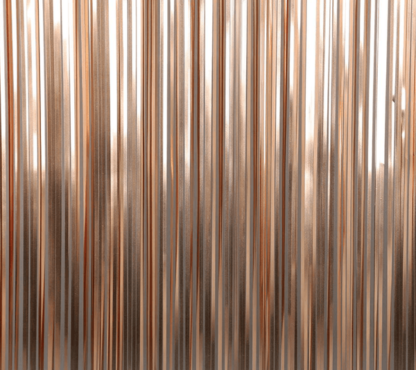 Foil Curtain Backdrop - Rose Gold