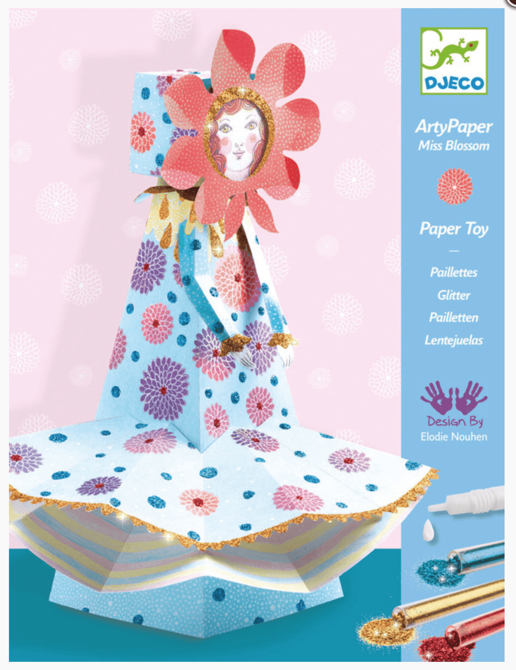 Djeco Miss Blossom Arty Paper