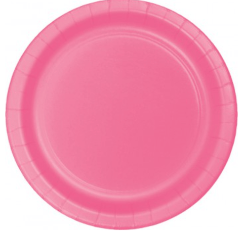 Candy Pink Party Plates