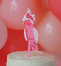 Load image into Gallery viewer, Hey Cockatoo Cake Topper