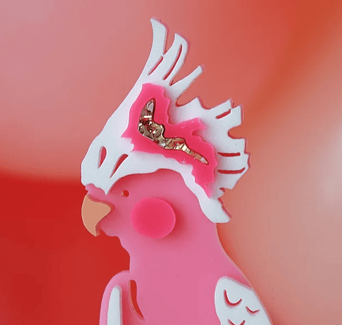Hey Cockatoo Cake Topper