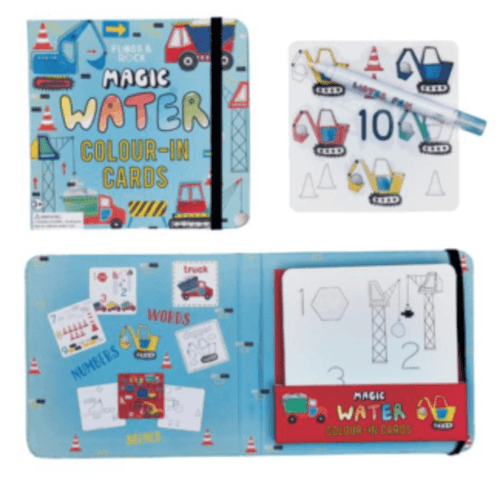Magic Water Colouring Cards Construction