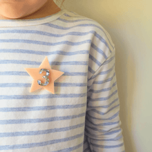 Load image into Gallery viewer, Birthday Badge Blush Star #5