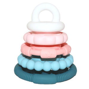 Jellystone Designs Sugar Blossom Stacker & Teether