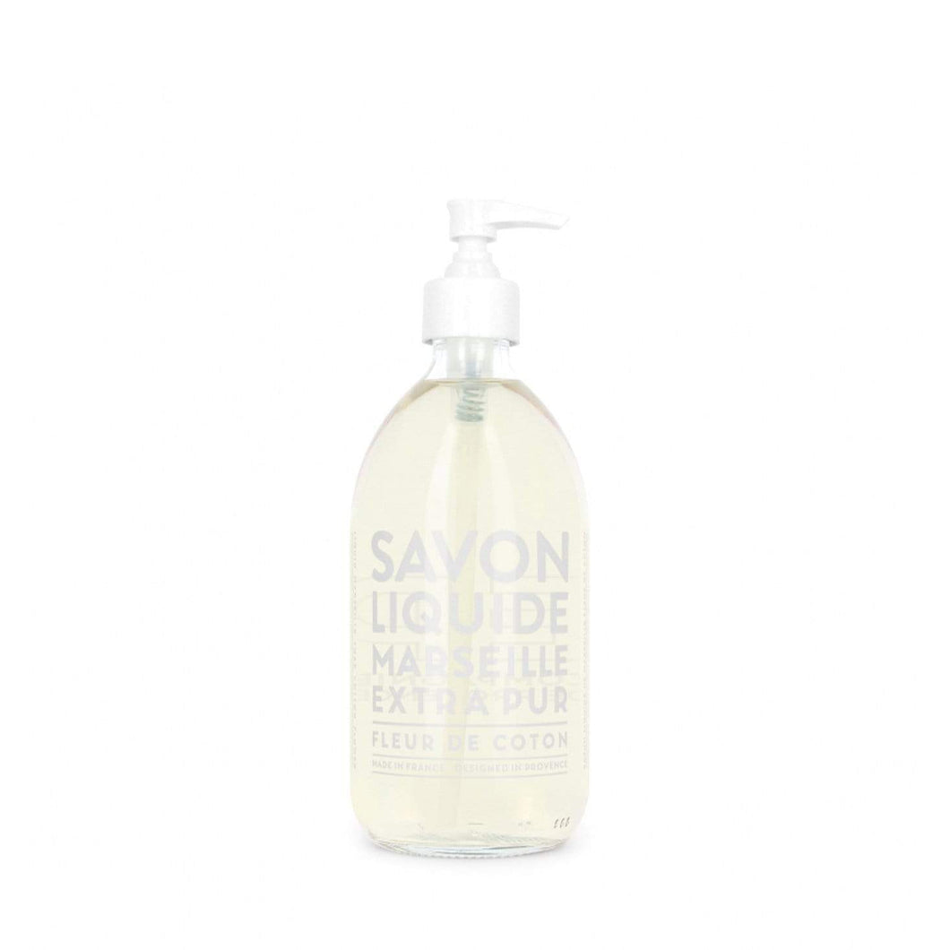 Compagnie De Provence Extra Pur Liquid Soap Cotton Flower 500ml