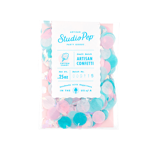 Studio Pep Artisian Confetti Cotton Candy