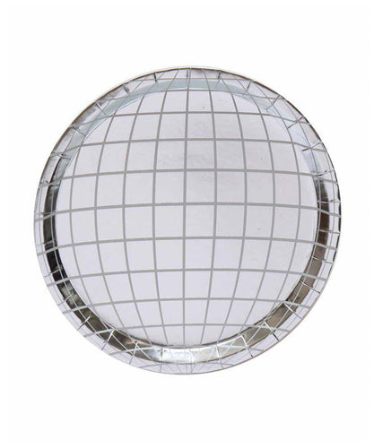 Oh Happy Day Disco Ball Plates (Pack 8)