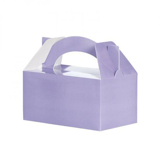 Pastel Lilac Lunch Box (5 Pack)