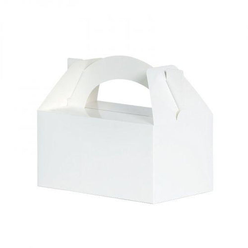 White Lunch Box (5 Pack)